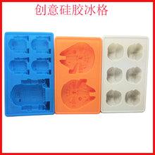 厂家直销 硅胶蛋糕模 马芬杯模 环保心形硅胶冰格 烘焙工具