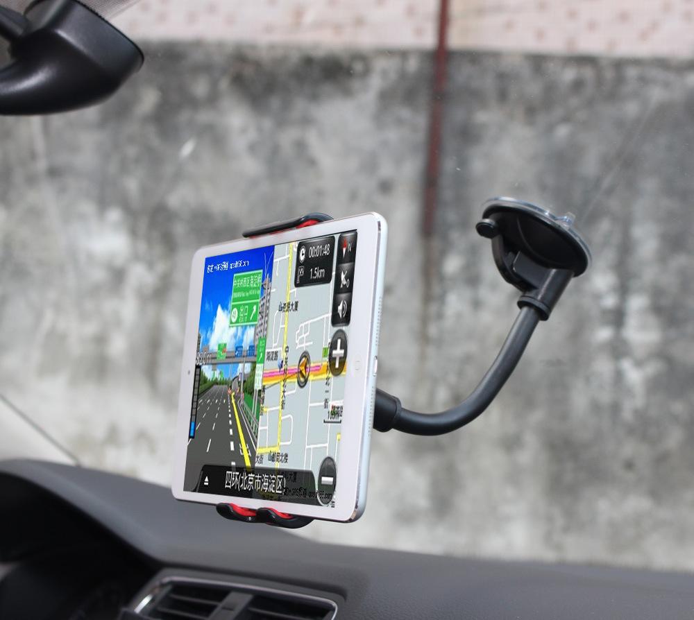 批IPAD苹果车载支架 吸盘懒人手机平板电脑通用支架 导航平