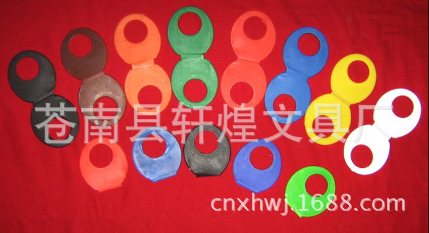 塑料制品厂直销 生产加工广告扇手柄 O型手柄 短柄铆钉手柄现货