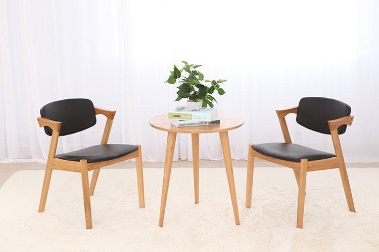 实木Z椅 生产厂家 高密白橡木Z形椅现货批发