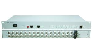 POE 8口百兆光纤收发器