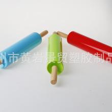供应塑料小号擀面杖 擀面棍 压面棍 实木 供烤用品 GMZ-00