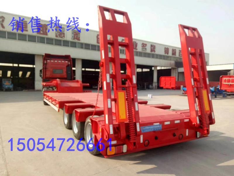 重庆半挂车低平板半挂车整车高强钢厂家