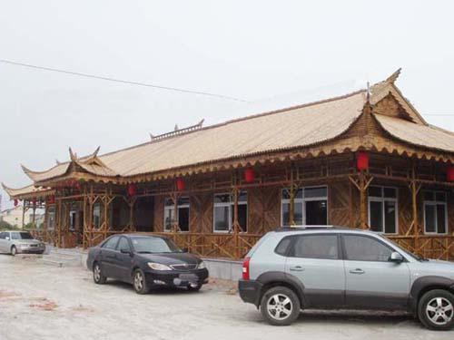 玉竹世家专业竹结构施工 竹楼搭建 竹房子设计 经验丰富