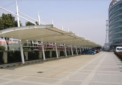 优质膜结构车棚 无锡膜结构车棚 无锡亮典膜结构安装工程