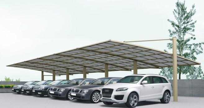 专业车棚 专业车棚价格 专业车棚厂家—无锡亮典膜结构安装工程