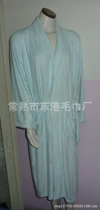 工厂定做家居全棉浴袍竹纤维浴衣浴袍厂家直销自营出口权
