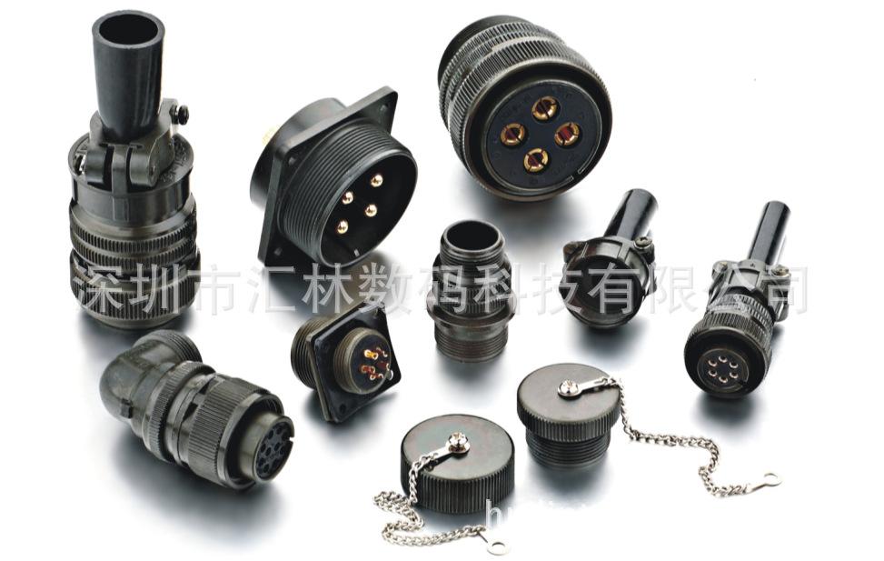 耐腐蚀连接器MS3106A-18-13直式航空插头-综合性能好