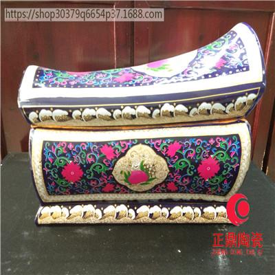 陶瓷骨灰盒优点 陶瓷骨灰坛卖点 陶瓷棺材特点