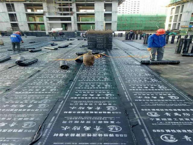 宁夏防水材料_防水卷材_SBS防水卷材_PVC防水材料