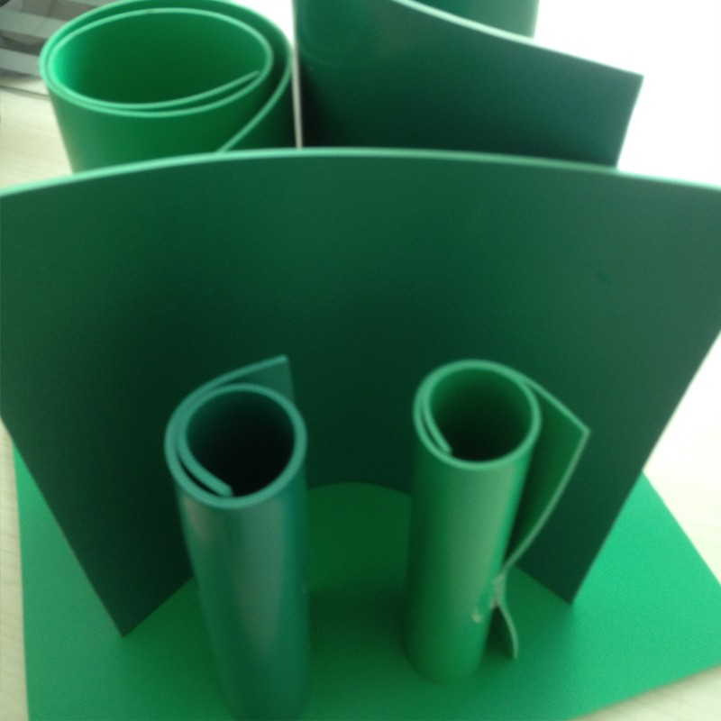 PVC软板 绿色软塑板 耐磨软板生产厂家