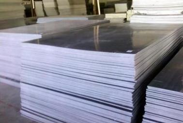 PVC板 灰色塑料板 灰色制砖托板