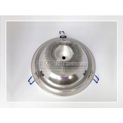 供应10寸筒灯套件 LED天花筒灯外套配件 LED一手货源 筒灯外壳批发