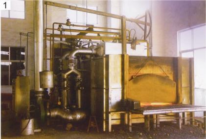 蓄热式贯通加热炉