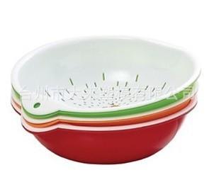 沥水篮-滴水盆-洗菜洗米筛-厨房用品模具