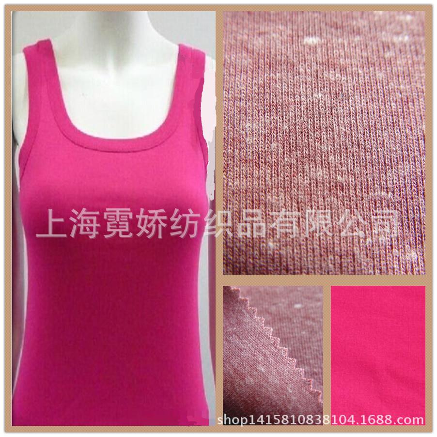 棉人棉1*1针织罗纹面料,厂家直销各类棉人棉莫代尔针织面