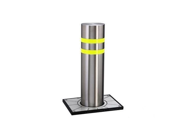 南昌学校升降防撞柱|升降柱厂家|液压升降柱|升降柱选安发智能
