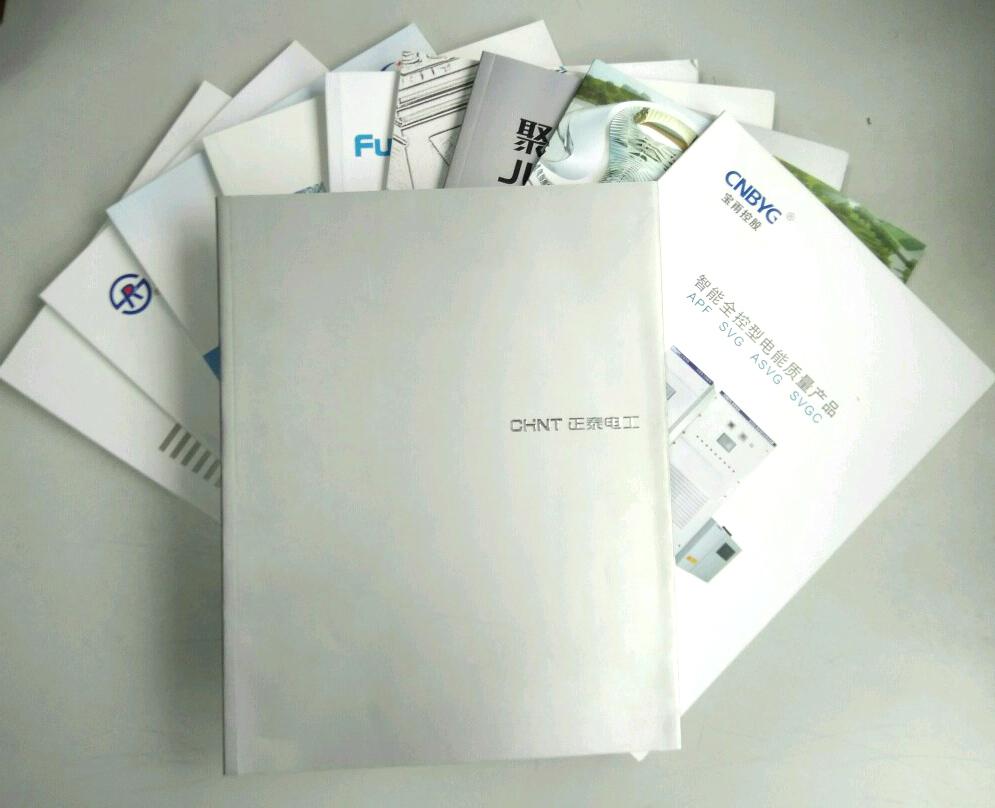 乐清样本画册设计印刷 温州电气样本画册制作 温州印刷厂