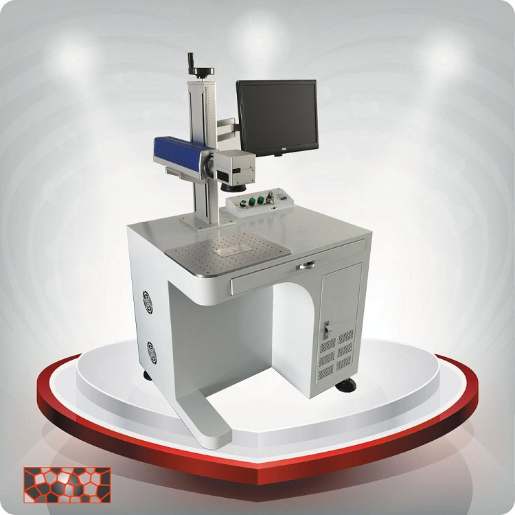 光纤激光打标机 不锈钢镭雕机 塑料激光打码机