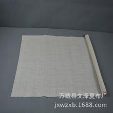 供应传统手工苎麻夏布 纯白色夏布厂家批发 优质苎麻面料