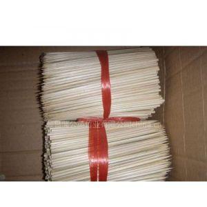 供应铁炮串 食品签 竹圆签 烫字竹签 香签 肉串签 小圆筷