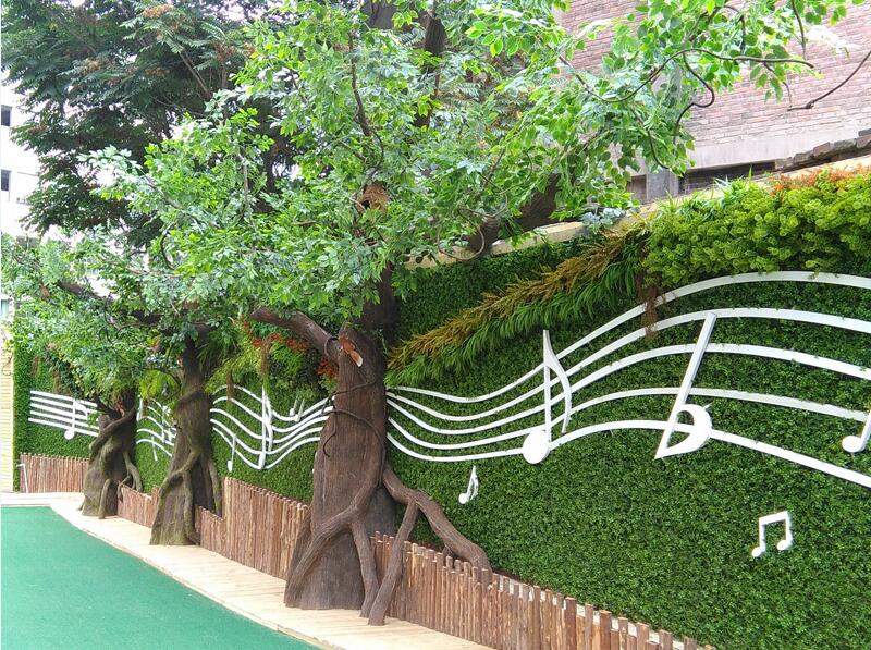 甘肃广场景观绿化