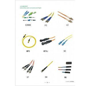 供应光纤跳线及尾纤