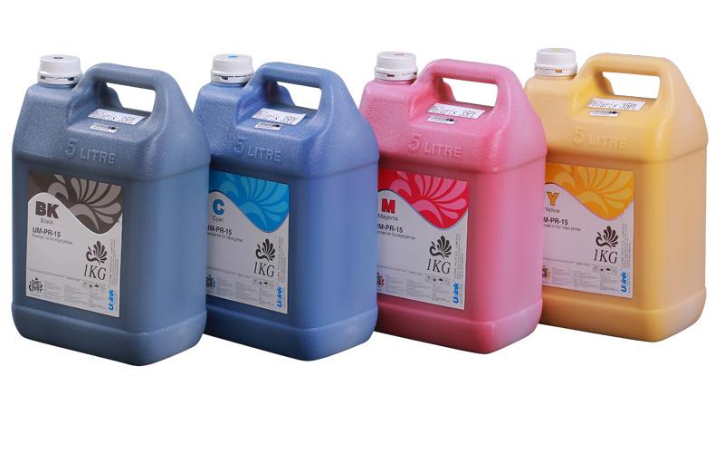 优墨环保大喷溶剂墨水用于工业喷头
