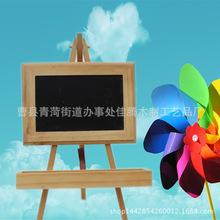 可爱小幸运小黑板 迷你带支架木质黑板 zakka杂货 温馨留言