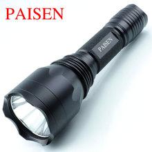厂家电筒批发 led铝合金强光照明手电筒 cree 充电强光手电