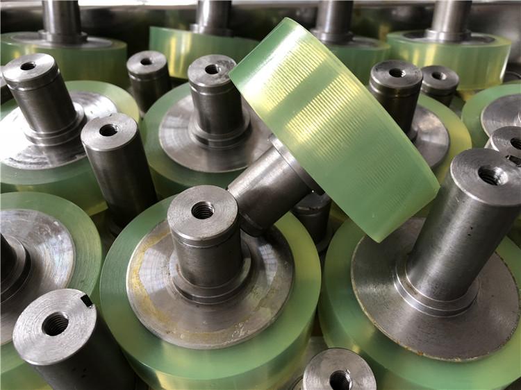 厂家供应工业机械聚氨酯PU胶轮包胶加工、非标定制