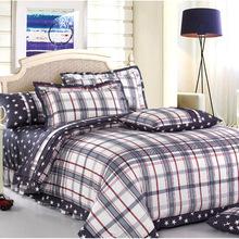 渲妮家纺厂家直销 全棉斜纹活性印花床单式 成人三件套系列