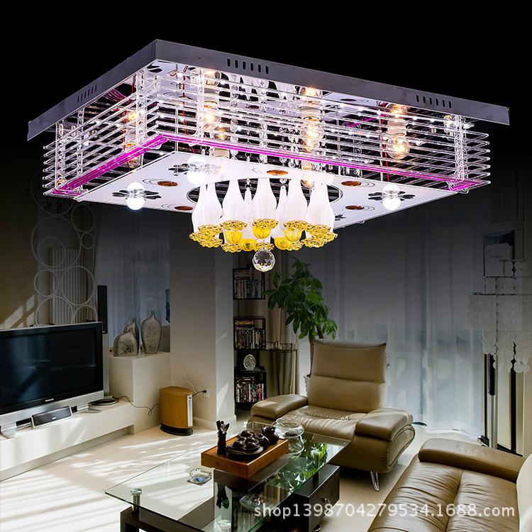 LED吸顶灯 节能方形客厅灯 现代简约餐厅灯卧室吸顶灯具照明7503