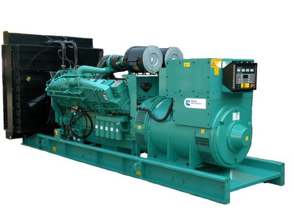 大型发电机 康明斯动力1100KW柴油发电机组 康明斯柴油发电