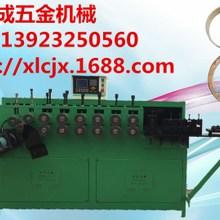 厂家1-6全自动网罩油压打圈机 铁线打圈机 六轴打圈机
