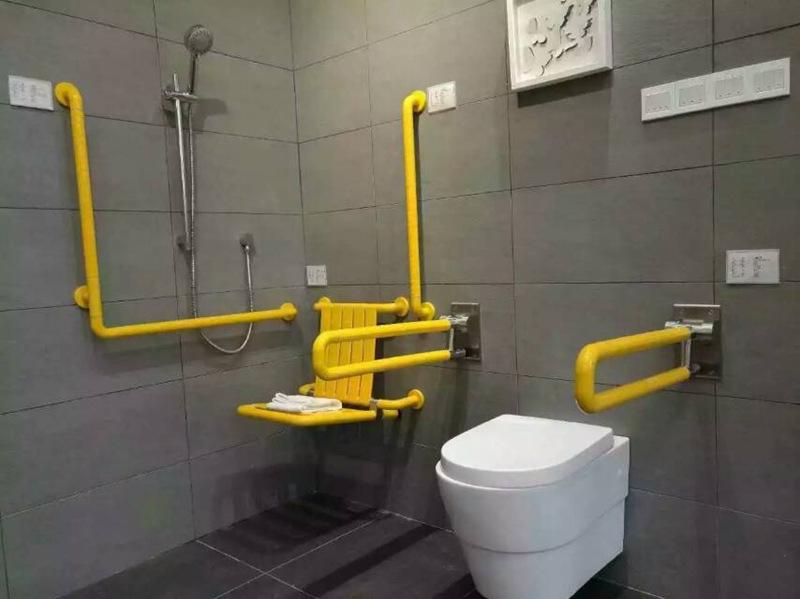 天津厂家直销老年人厕所安全扶手残疾人无障碍卫浴扶手