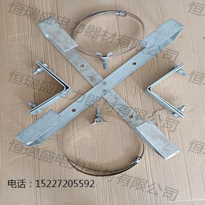 光缆杆用外盘式余缆架热镀锌十字预留架放线架电缆用余缆架