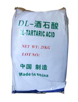 【酒石酸】供应优级品99.5%酒石酸厂家批发食品级国标dl-酒石酸