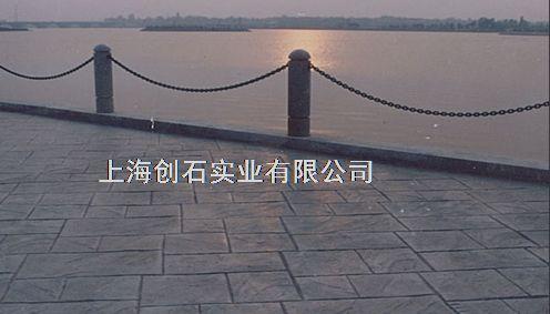 供应甘肃彩色水泥印花广场生产厂家