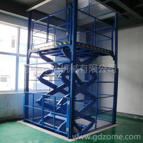 室内剪叉式升降货梯