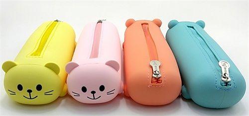 专业厂家直供好用的笔袋_卡通可爱学生笔袋_韩版小熊笔袋