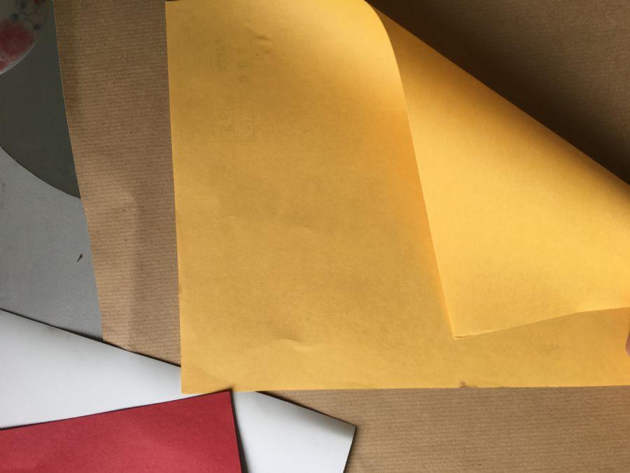 批发供应90-180g金黄色牛皮纸