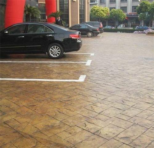 四川省绵阳市彩色压花地坪一次成型水泥压花材料特性
