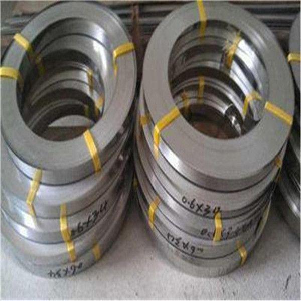 SUS304镀镍不锈钢带环保301精密不锈钢带精密分条