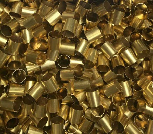 外径2mm壁厚0.5mm精密黄铜管H65黄铜管