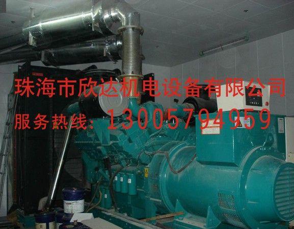 珠海康明斯发电机组供货、发电机房降噪安装工程、厂家直销