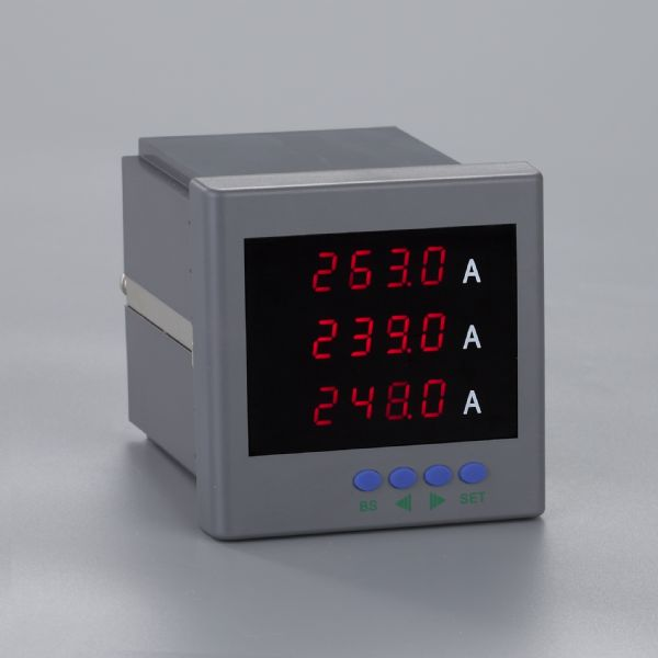 三相数显交流电流表SR204I-9K4SR204I-AK4