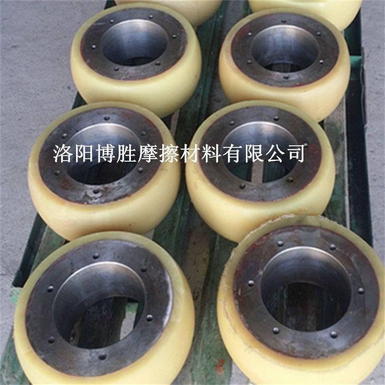 洛阳厂家供应聚氨酯包胶铁芯包胶,来图来样定制加工生产