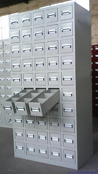 环保型中药柜厂家五十斗铁皮中药柜批发