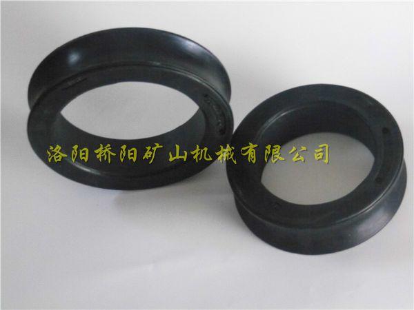 矿井钢丝绳用尼龙耐腐蚀耐酸碱猴车轮衬